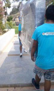 Portfolio Trabajos - Mudanza Villa en Ibiza