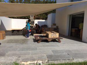 Trabajos - Mudanza Estudio musica en Ibiza